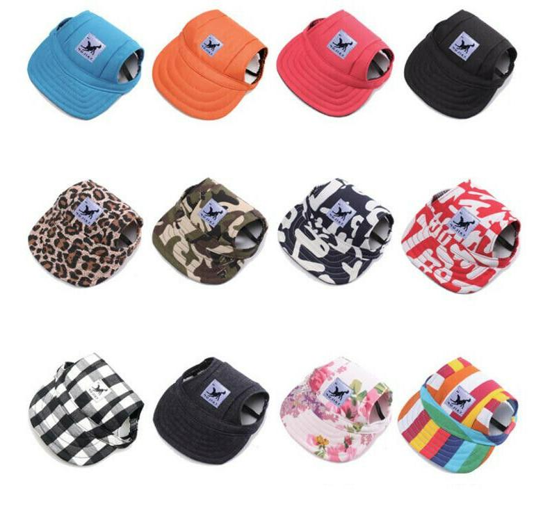 Dog Cap Visor with Ear Strap Dogs