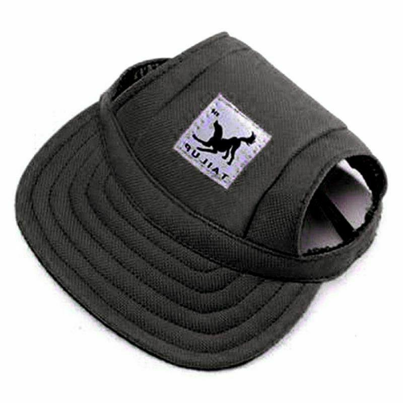 Dog Hat Pet Cap Sport with Strap for