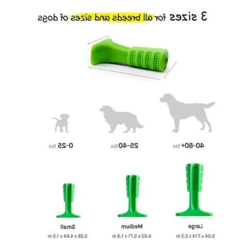 Dog Toothbrush Stick Cleaning Toy For Pet Oralcare