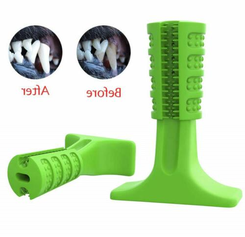 Dog Toothbrush Pet Brushing Stick Toy Dogs Oralcare