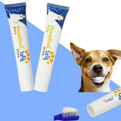Edible Toothpaste Care Fresh Breath Kit for Dogs Cleaning Safe