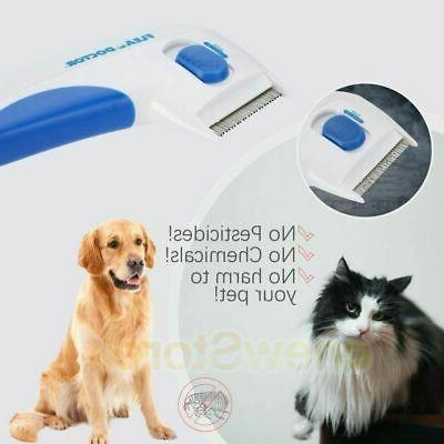 Flea Brush Dogs Cats Brush Tick Control