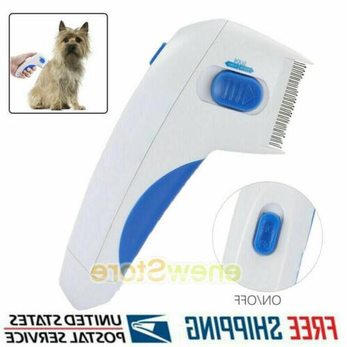 flea doctor electric comb brush for dogs