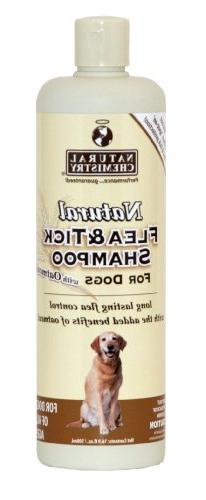 Natural Chemistry Natural Flea And Tick Shampoo For Dogs Wit