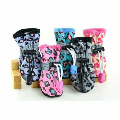 Funny Rain Shoes Boots Waterproof Anti-slip for Puppy Cat