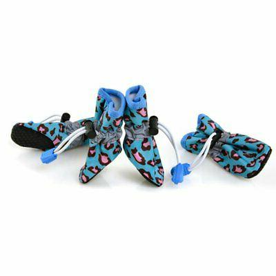 Funny Pet Rain Boots Socks Waterproof Anti-slip for Dog Cat