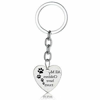 Gifts For Her Dad Daughter Family Keychain Charm