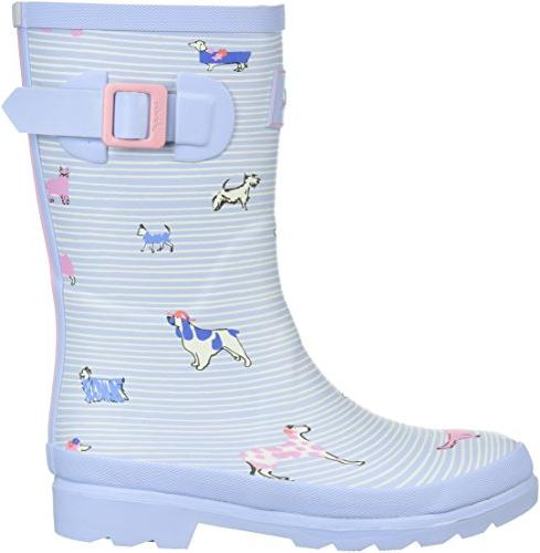 Joules Girls' Boot, Sky US