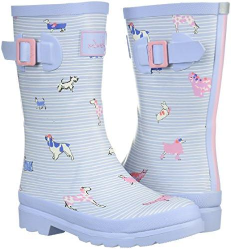 Joules JNRGIRLSWLY Boot, Sky Best 9C Medium US