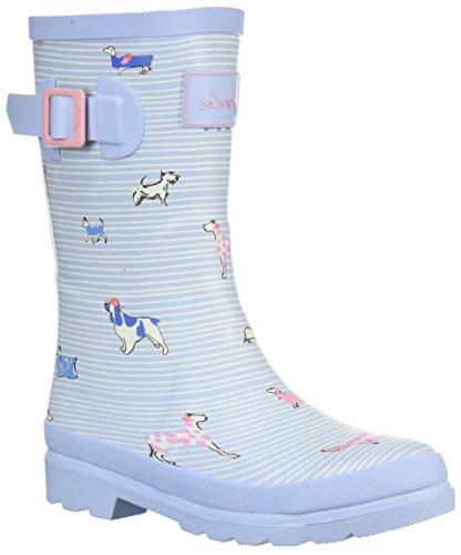 girls jnrgirlswly rain boot sky blue sunday