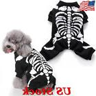 halloween pet dog clothes costume horror skeleton