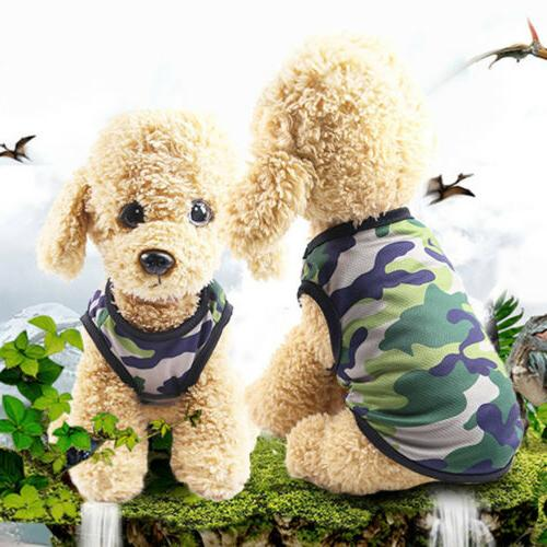 Hot Dog Camouflage For Dogs Pet T