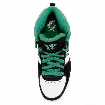 Warrior Dog Mid Casual Shoes - Black Green