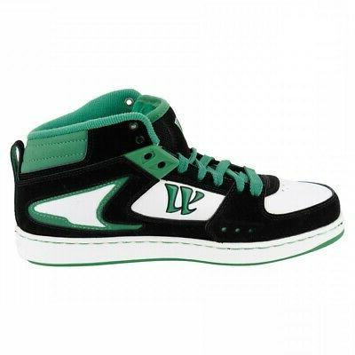 Warrior Hound Mid Skate/ Shoes Green