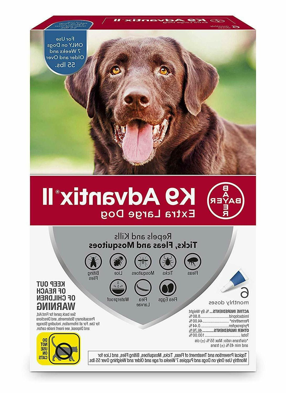 ii for extra large dogs over 55