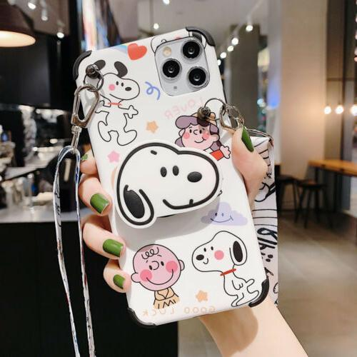 For Iphone 11 Pro Max Xs Xr 7 Phone Case Cover Cartoons Dog