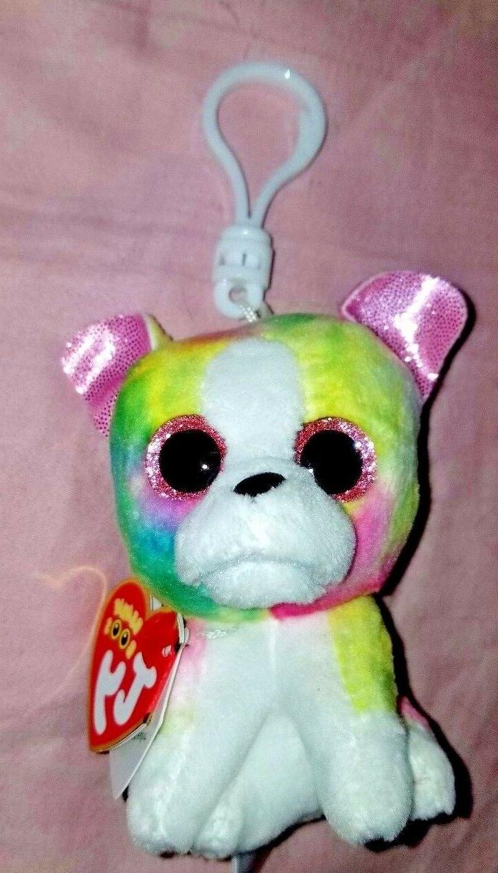 isla beanie boos clip mwmt multicolored dog