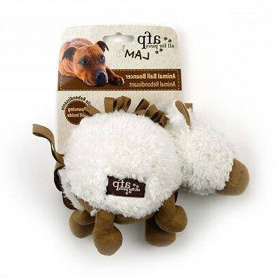 All For LAMB CUDDLE BALL Squeaker Dog