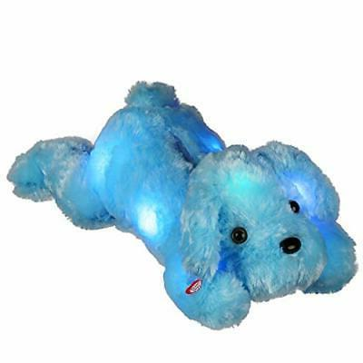 LED Stuffed Animals,Glow Puppy Plush Toys Creative Light Gifts for