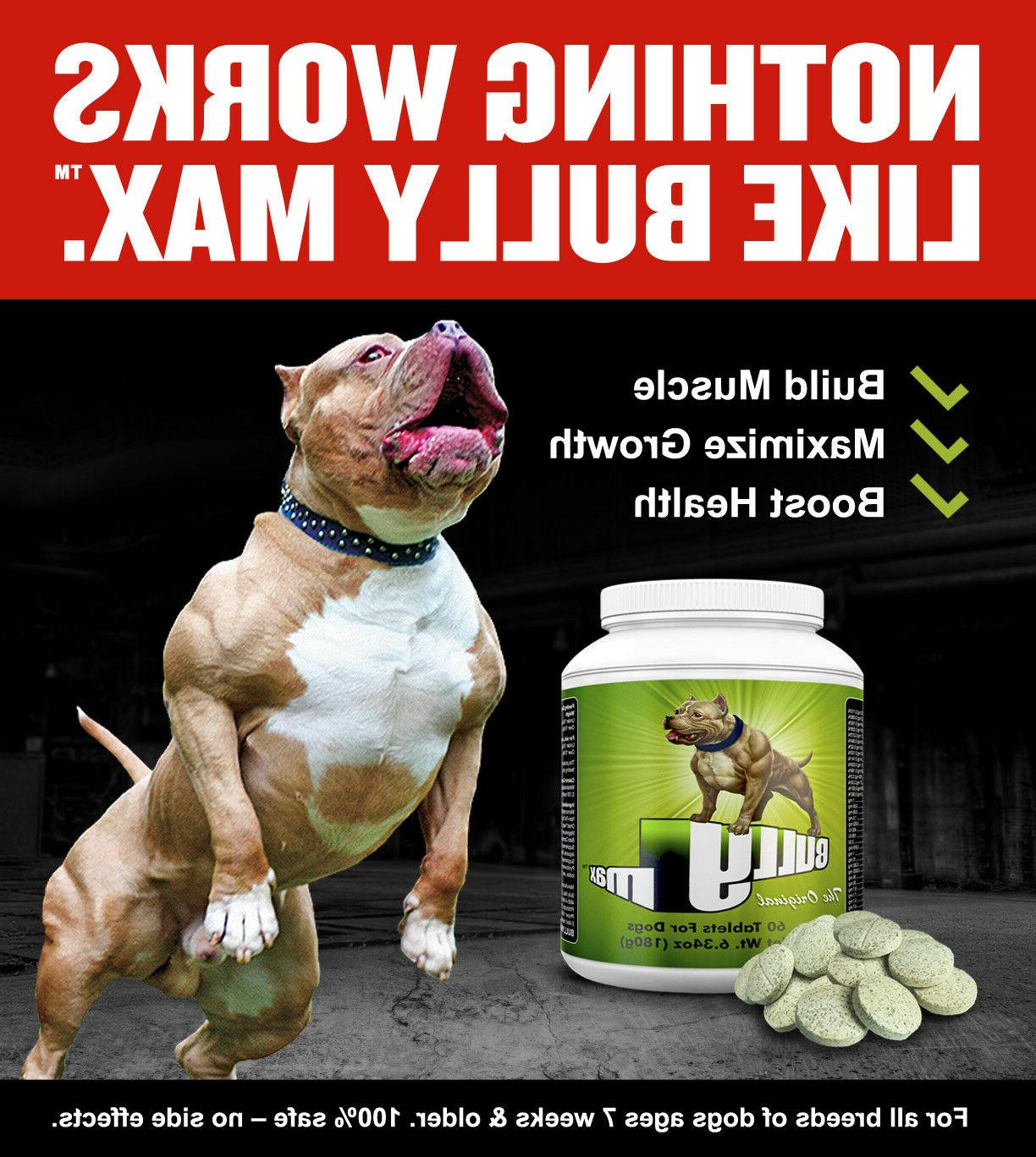 muscle builder for dogs 60 day supply