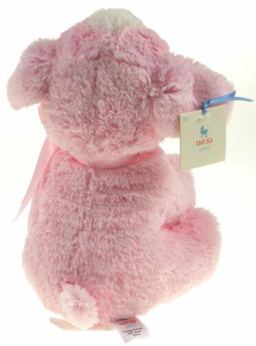 My First Puppy Pink Gund Baby Plush Stuffed Animal Dog Baby