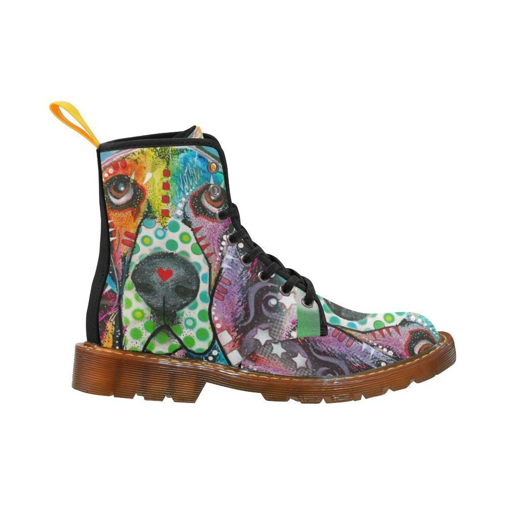 NEW coming Women Lace Dog Martin Boots For