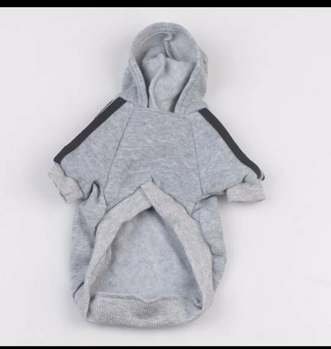 * Dog Hoodies Button Sports For