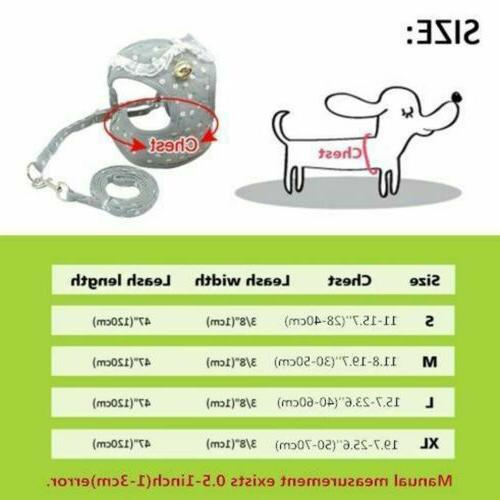 Nylon Pet Mesh Vest Collar For Small Medium-sized