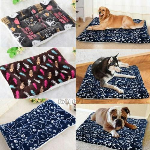 pet bed for dogs and cats plush