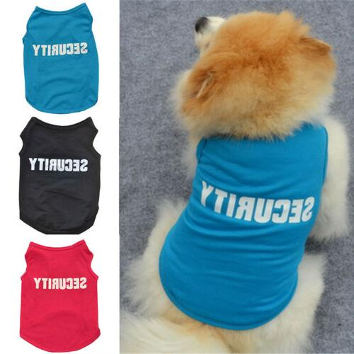 Pet Dog T Clothing Small Puppy Vest