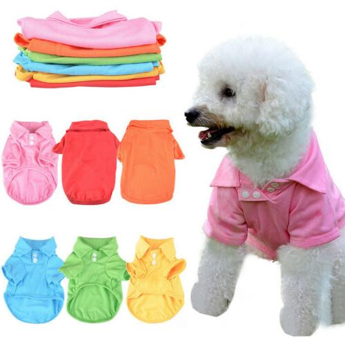 Pet Dog Puppy T Shirt Small Dogs Vest