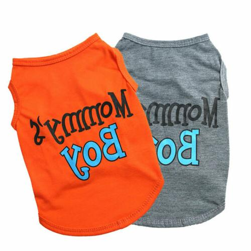 Pet T Shirt Clothing Small Puppy