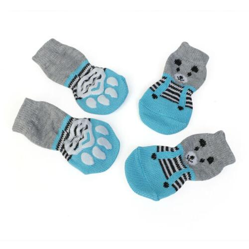 Pet Cat for Large Knitted Cotton Non Pet Puppy Shoes