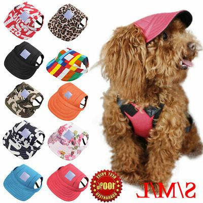 pet dog baseball cap sports travel windproof