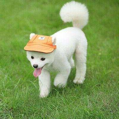 Pet Hat Baseball Cap Windproof Sun Hats for Puppy Large Dogs
