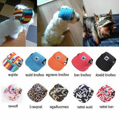 Pet Baseball Cap Sports Windproof Sun for Large