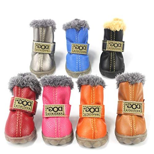 SENERY Boots,Winter Dog's Boots Anti Slip Shoes Small Product