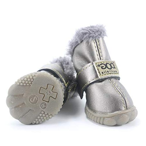 SENERY Dog Boots,Winter Waterproof Dog's Boots Cotton Shoes Small Product