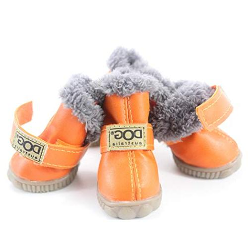 SENERY Boots,Winter Waterproof Warm Dog's Boots Cotton Shoes Product