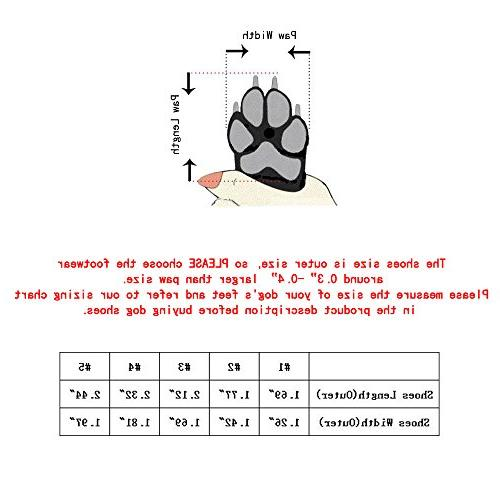 Urijk Sporty Shoes Nonslip Causal Boot Shoes Lace Outdoor Booties Sneaker Protector for Small Medium Pcs