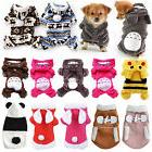 Pet Dog Cat Puppy Jacket Coat Winter Clothes Hoodie Sweater