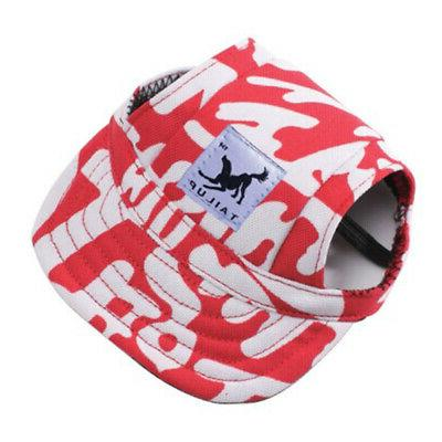 Pet Hat Baseball Windproof Sun Hats for Puppy Large Dogs