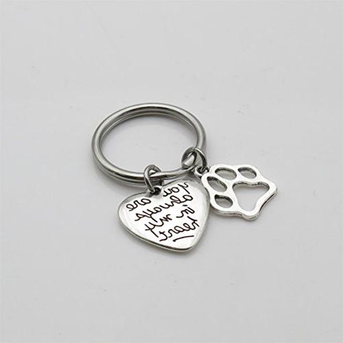 You Always In My Heart Keychain Pet Gift