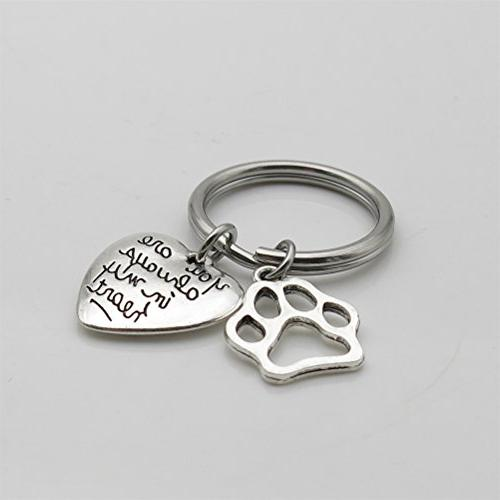 Pet Memorial Keychain You Are Always My Heart Pet Sympathy