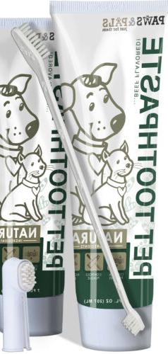 Pet Oral Dental Care Toothbrush Toothpaste for Dog Fresh Bre