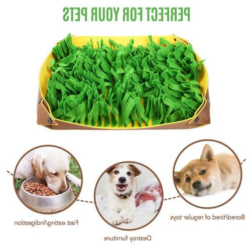 Pet Snuffle Mat for Dogs Feed Skill