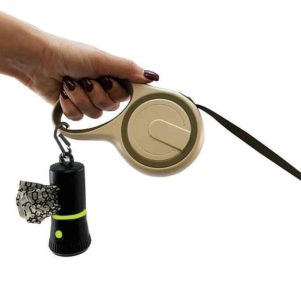 Pet Flashlight Disposable Poop for Dogs with Belt Clip