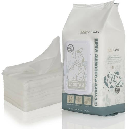 Pet Wipes for Puppy Grooming Deodorizing
