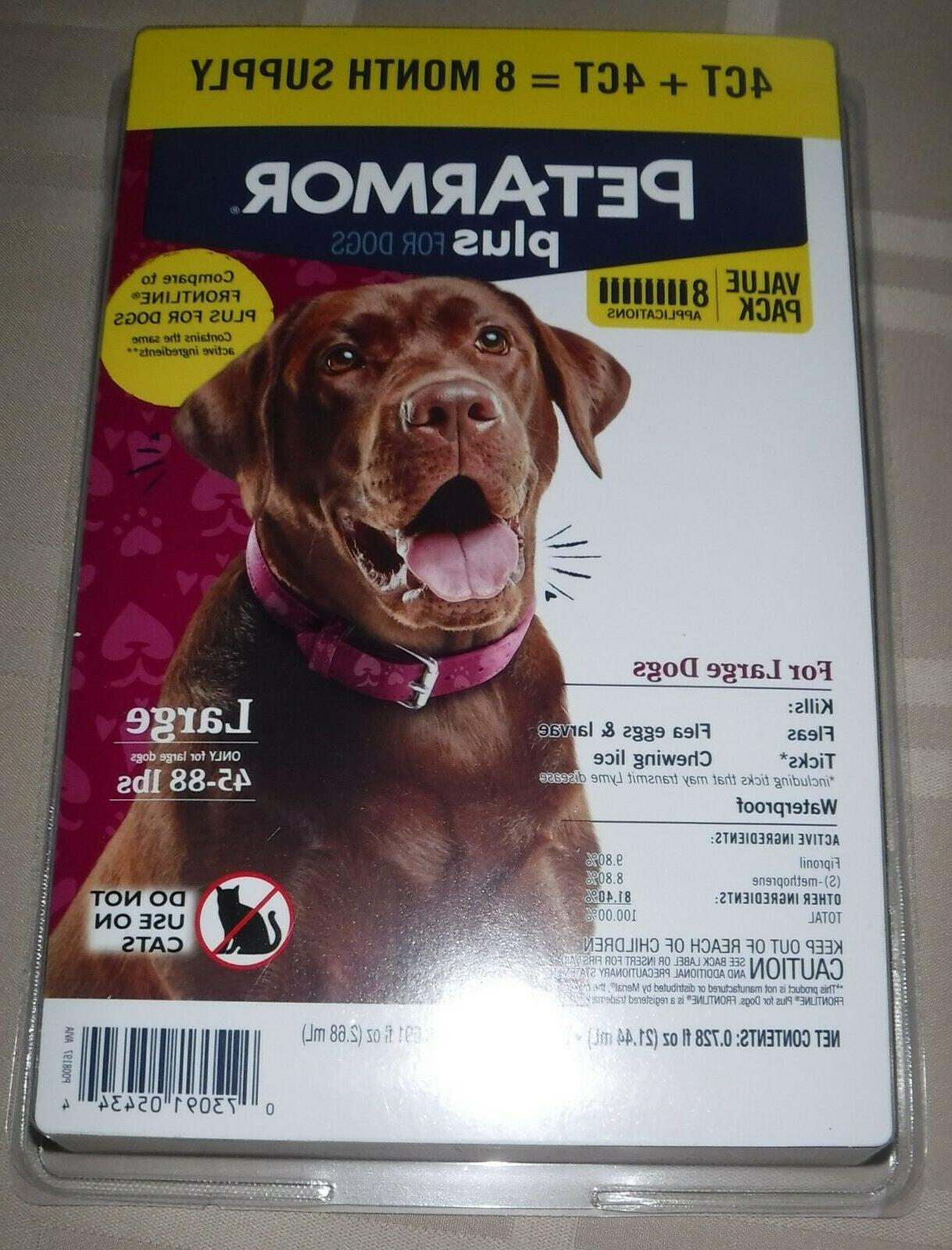plus flea and tick prevention for dogs