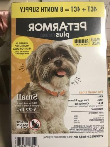plus flea and tick prevention for small